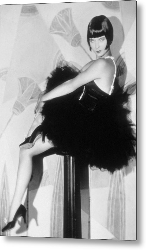 1920s Fashion Metal Print featuring the photograph Louise Brooks, C. 1929 by Everett