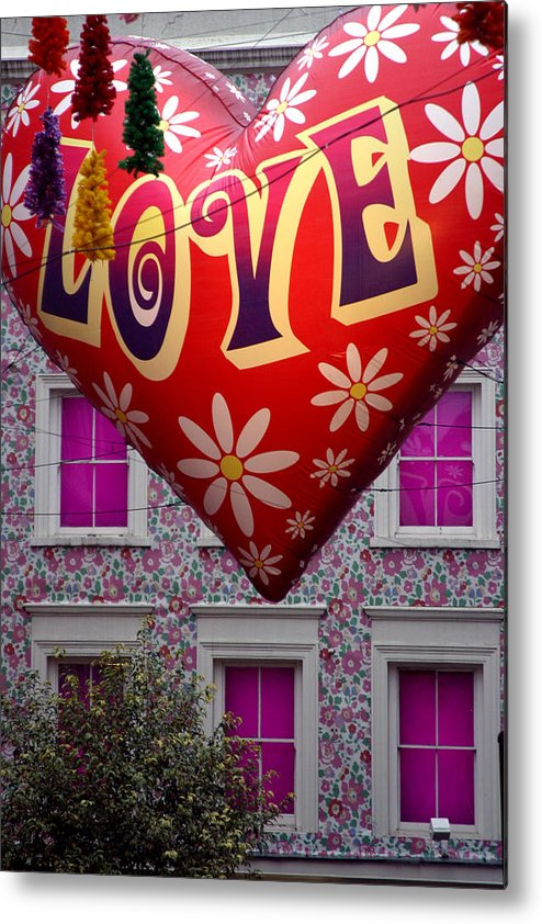 Jez C Self Metal Print featuring the photograph Love Above by Jez C Self