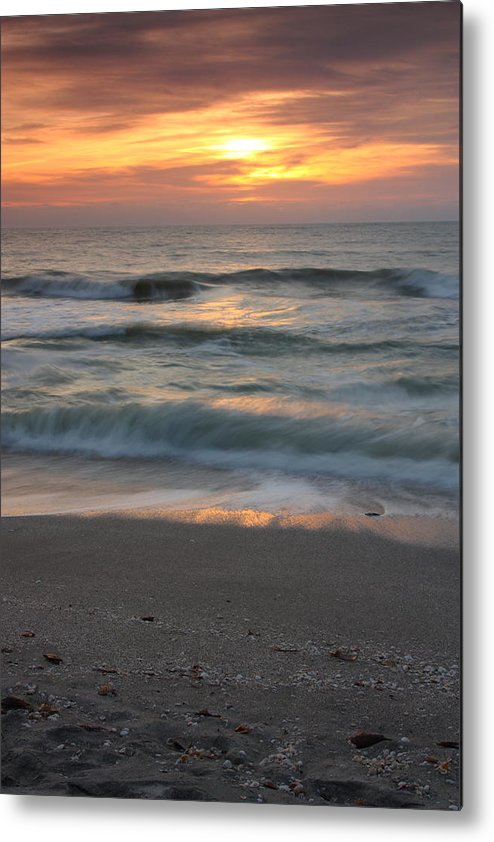 Landscape Metal Print featuring the photograph Magical Captiva Beach Sunset by Larry Federman