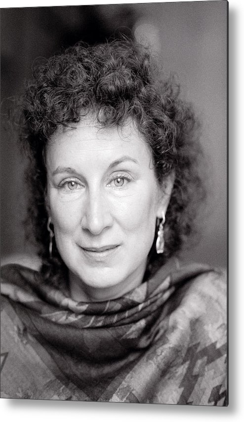 Margaret Atwood Metal Print featuring the photograph Margaret Atwood by Shaun Higson