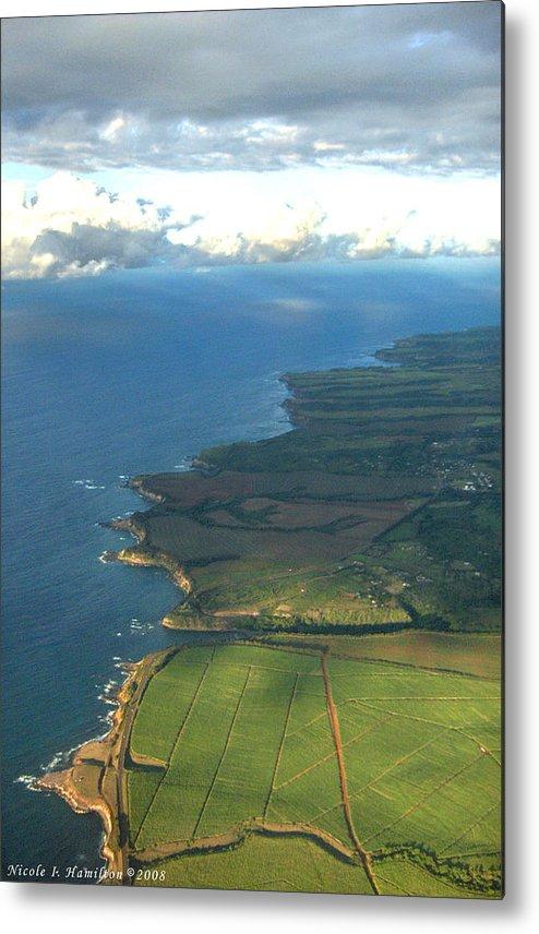 Maui Metal Print featuring the photograph Maui Coastline by Nicole I Hamilton