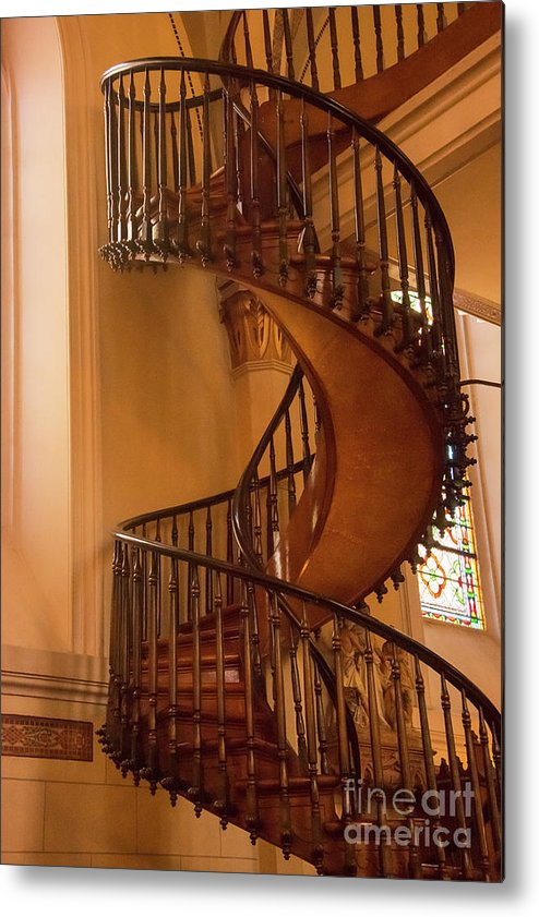 Miraculous Staircase Metal Print featuring the photograph Miraculous Staircase by Bob Phillips