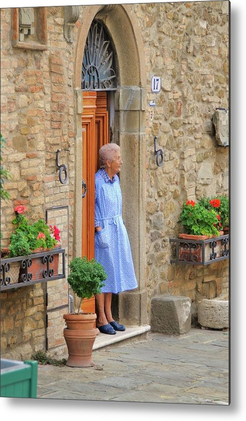 Italy Metal Print featuring the photograph Neighborhood Watch by Jim Benest