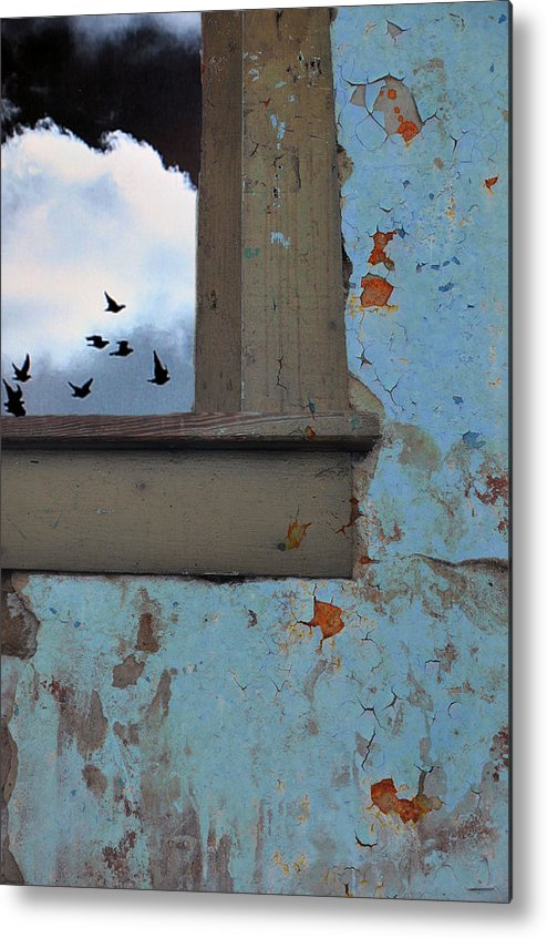 Skies Metal Print featuring the photograph Never Say Farewell by Jan Amiss Photography