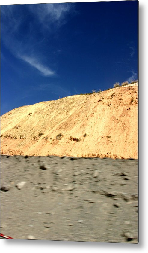 Photographer Metal Print featuring the photograph New Road by Jez C Self