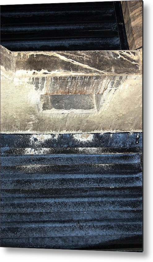 Abstract Metal Print featuring the photograph Nj Abstract One by Heather S Huston