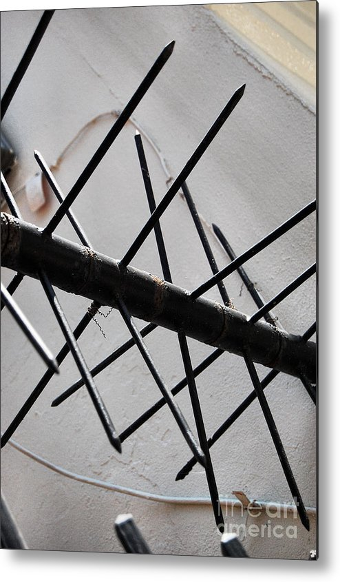 Security Metal Print featuring the photograph Nola Security 3 by Jessa DeNuit