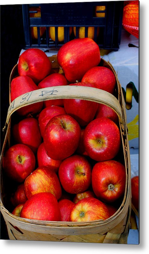 Georgia Metal Print featuring the photograph North Ga. Apples by Ralph Perdomo