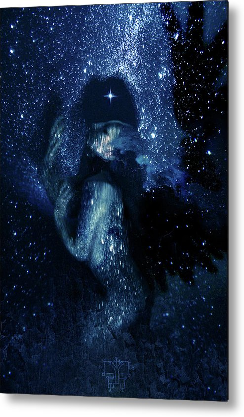 Orias Metal Print featuring the digital art Orias by Cambion Art