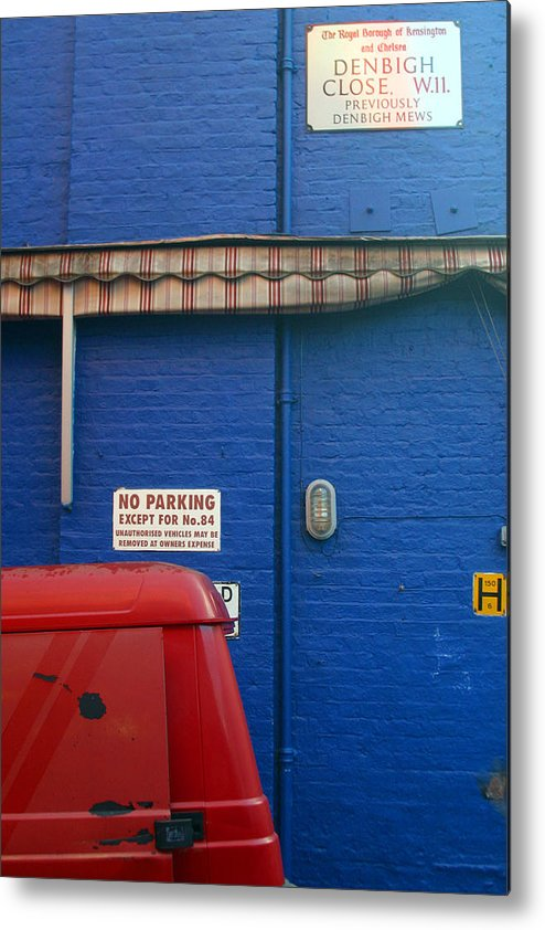 Jez C Self Metal Print featuring the photograph Park Thee Not by Jez C Self