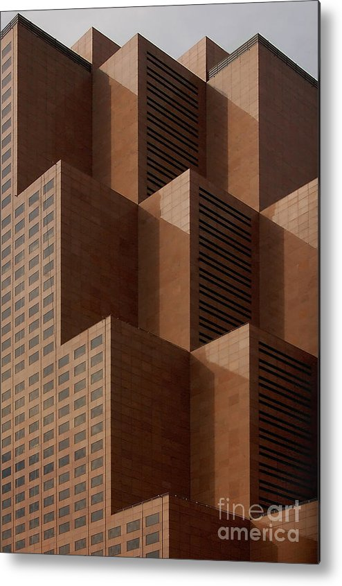 Architecture Metal Print featuring the photograph Peaks by David Smith