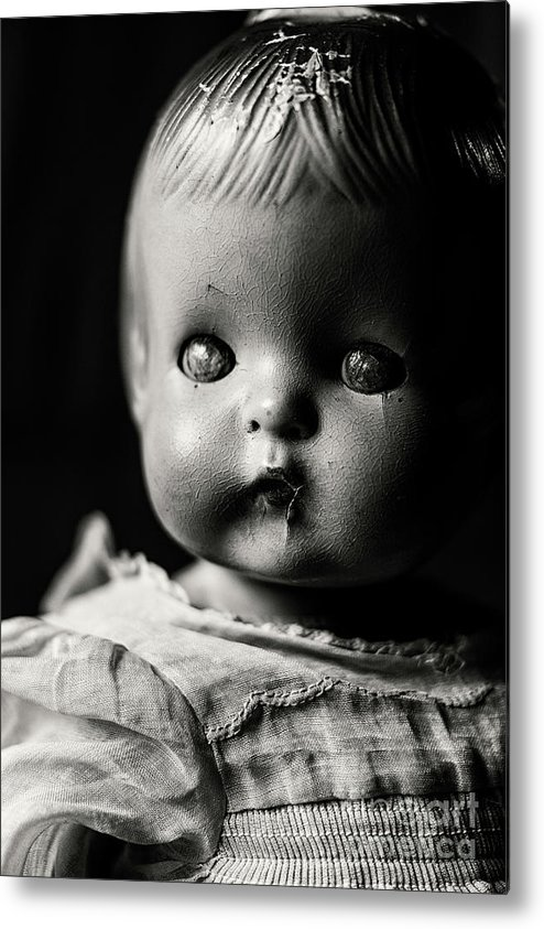 Doll Metal Print featuring the photograph Play by Cara Walton