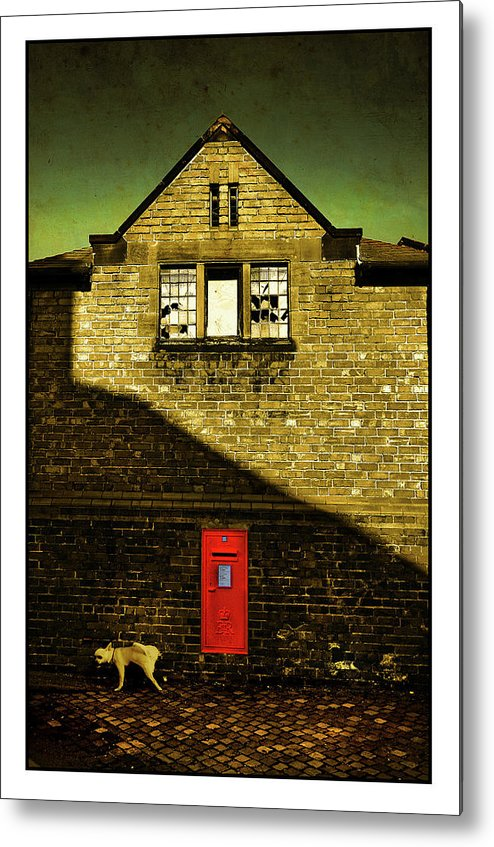 Mail Metal Print featuring the photograph Postal Service by Mal Bray