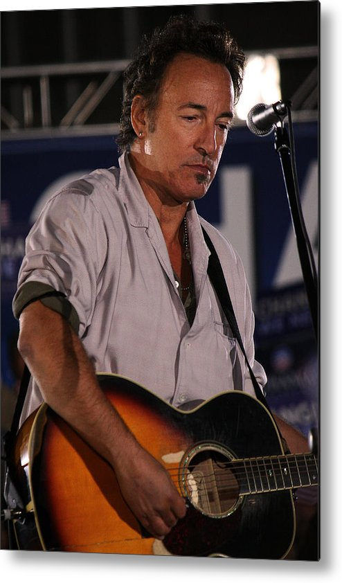 Bruce Springsteen Metal Print featuring the photograph Promised Land by Brian M Lumley