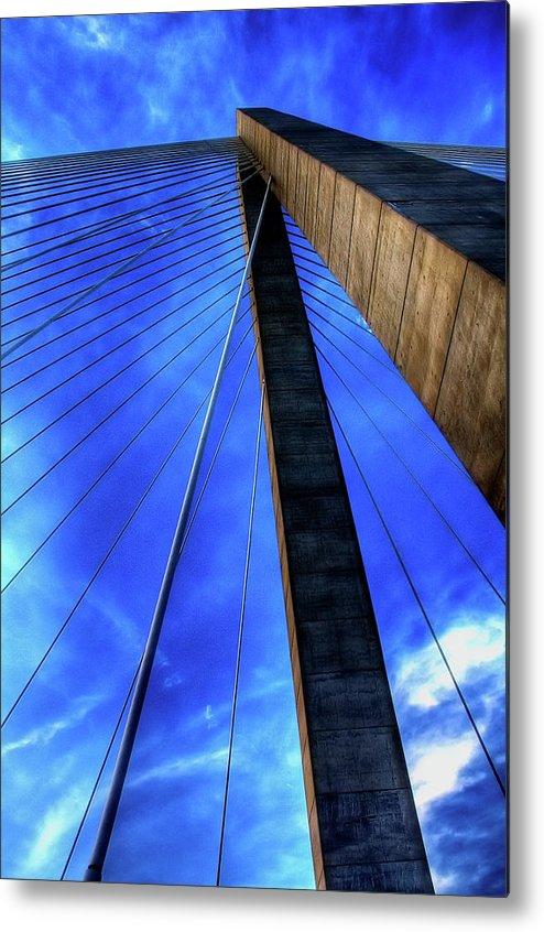 Bridge Metal Print featuring the photograph Ravenel Sky by Drew Castelhano
