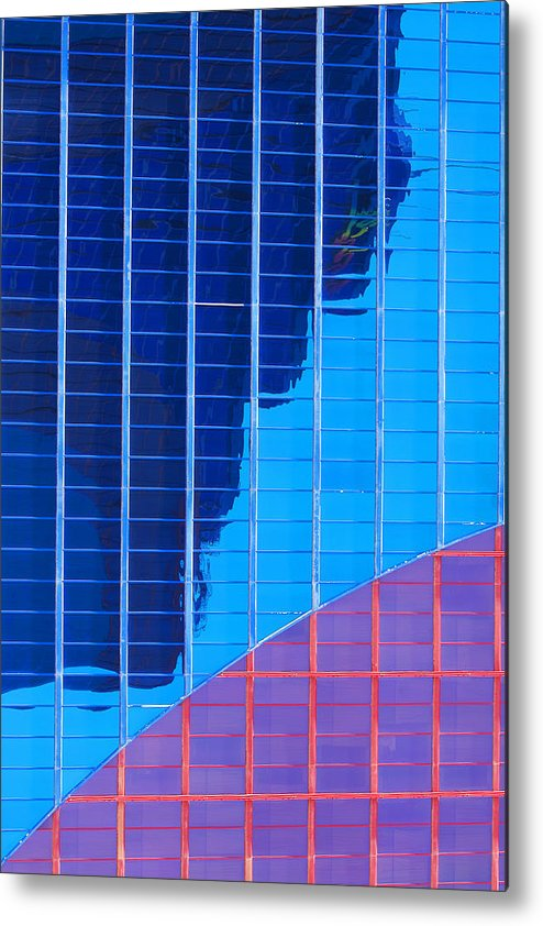 Rio Hotel Metal Print featuring the photograph Rio Reflection by Richard Henne