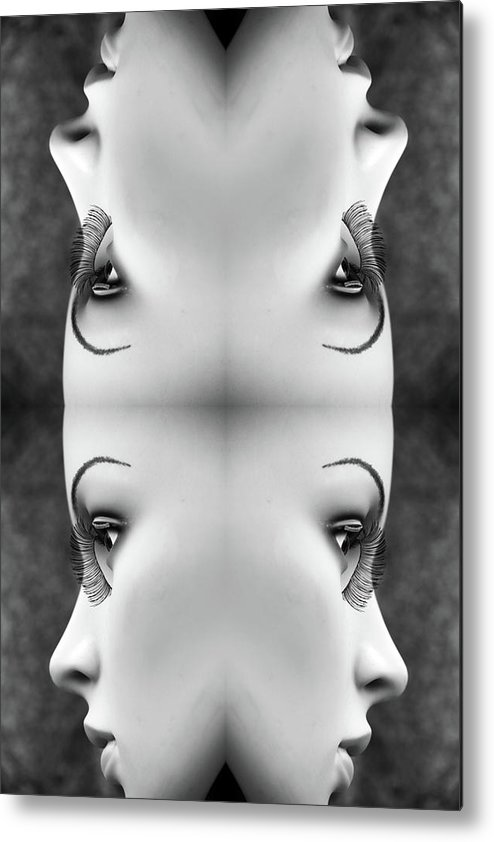 Mannequins Metal Print featuring the photograph Ripples Never Come Back by Jez C Self