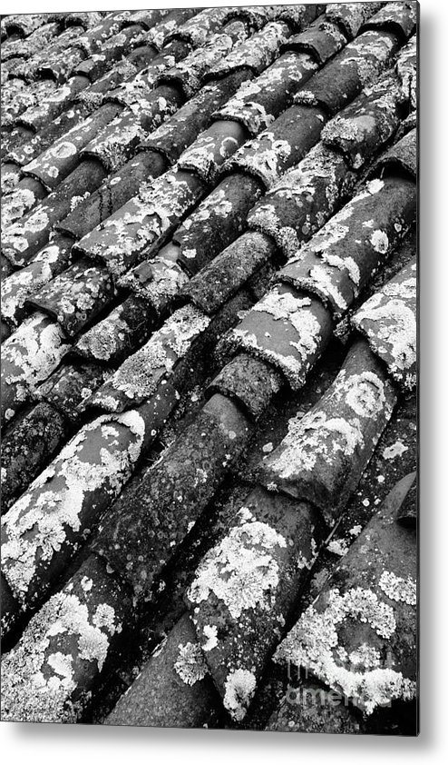Ceramics Metal Print featuring the photograph Roof Tiles by Gaspar Avila