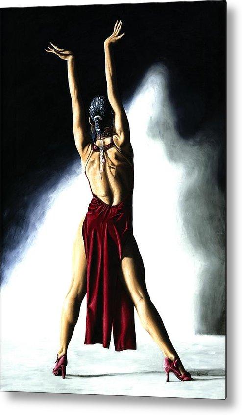 Samba Metal Print featuring the painting Samba Celebration by Richard Young