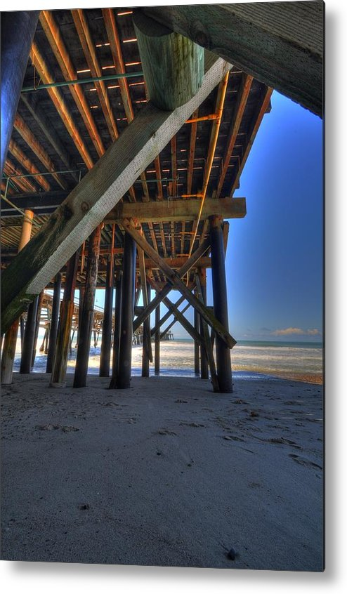 San Clemente Pier Metal Print featuring the photograph San Clemente Pier by Kelly Wade