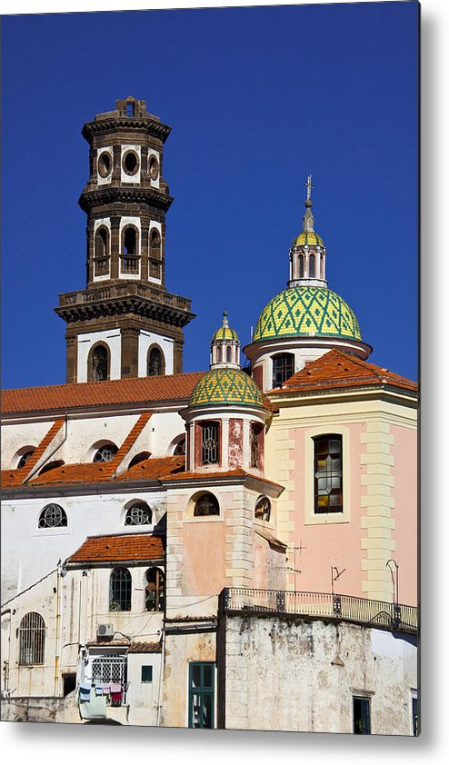 Amalfi Metal Print featuring the photograph Santa Maria Maddalena by Eggers Photography