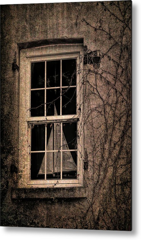 Window Metal Print featuring the photograph Savannah Sail Art by JAMART Photography