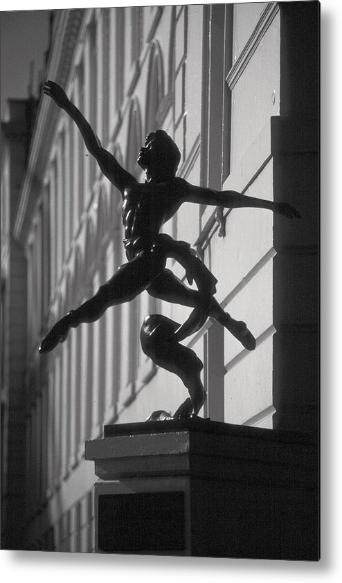 Statue Metal Print featuring the photograph Sculpture London by Douglas Pike
