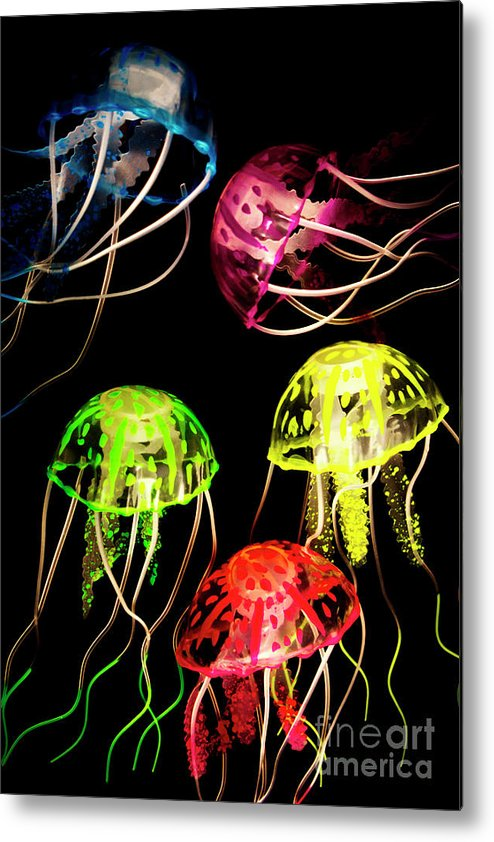 Nature Metal Print featuring the photograph Sea Of Colours by Jorgo Photography - Wall Art Gallery