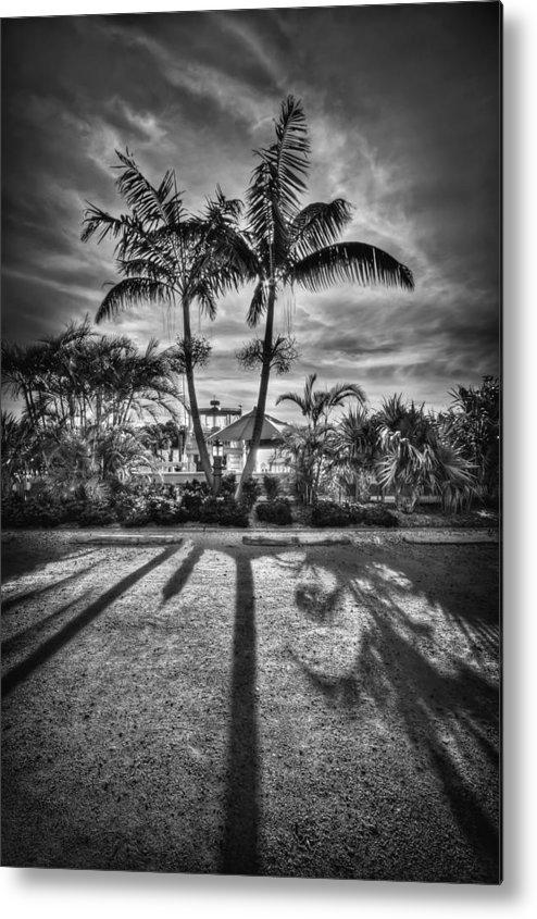 Boca Grande Metal Print featuring the photograph Shadow Waltz by Evelina Kremsdorf