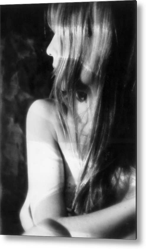 Figure Metal Print featuring the photograph Shadows Of Sight by Xavier Carter