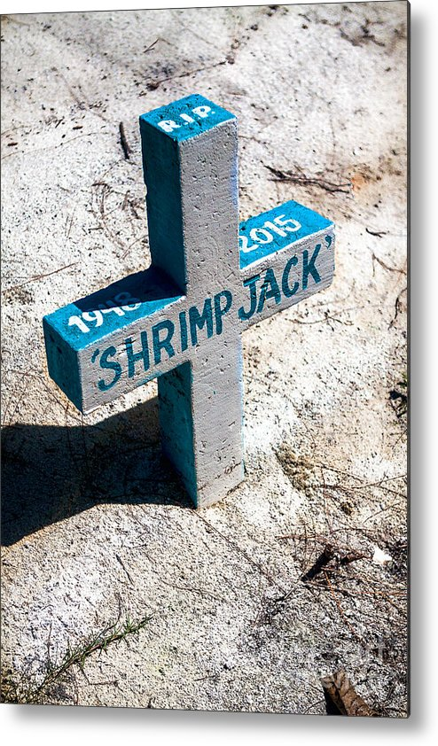 Belize Metal Print featuring the photograph Shrimp Jack by Lawrence Burry