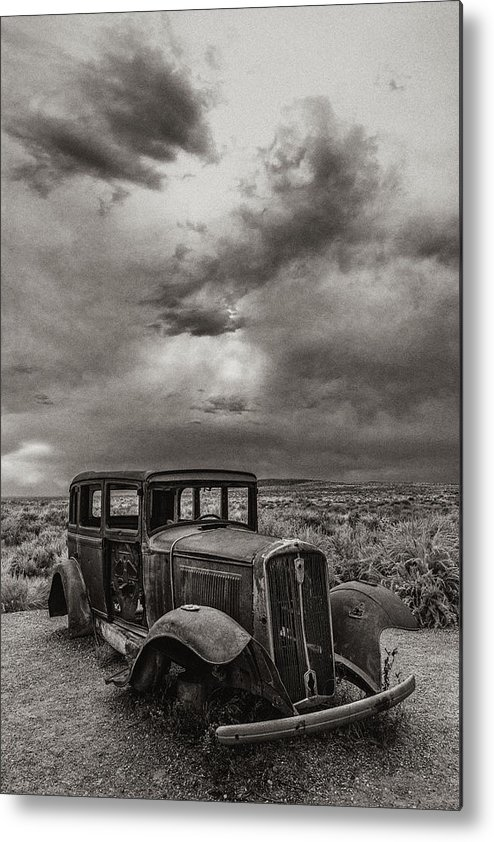 Route 66 Metal Print featuring the photograph Slower Times by Joseph Smith