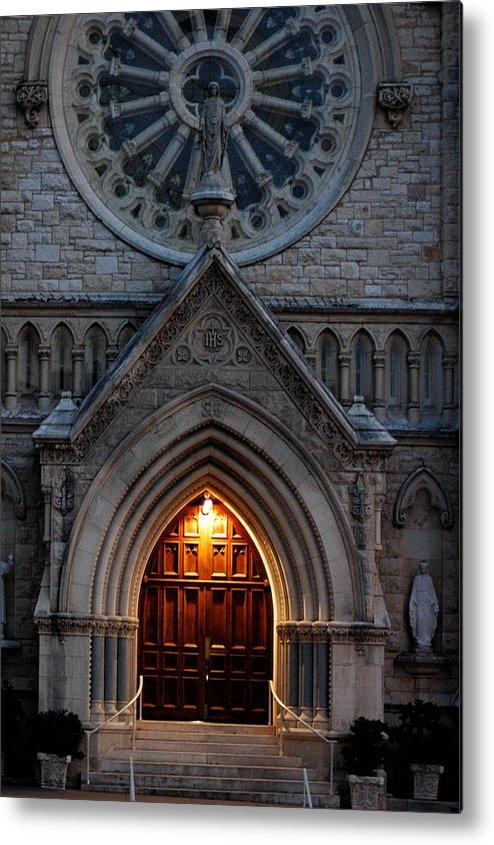 Church Metal Print featuring the photograph St Annes Church by Teresa Blanton