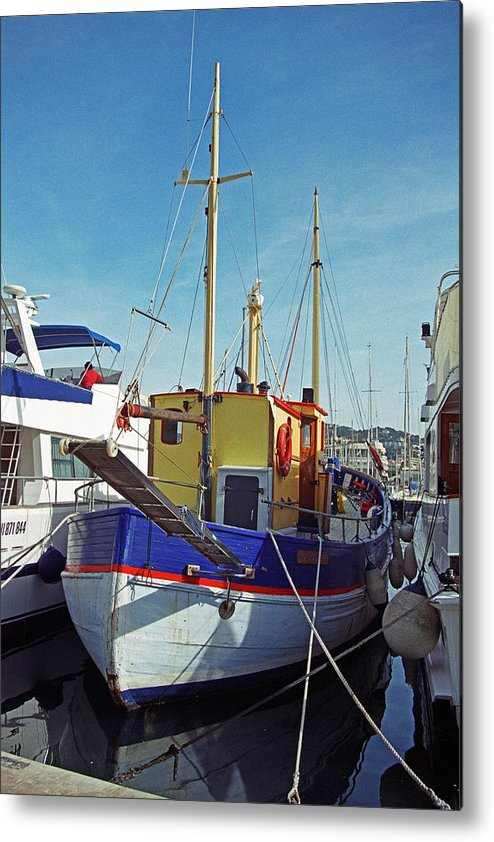 Boat Metal Print featuring the photograph St. Nicolas by Don Mennig