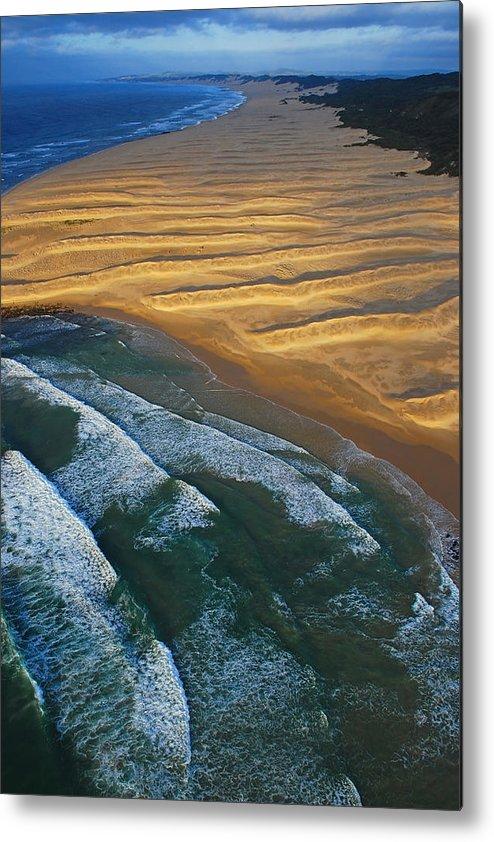 Coast Metal Print featuring the photograph Sun Rise Coast by Skip Hunt