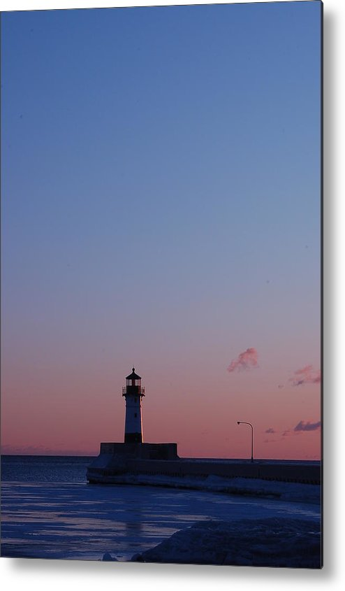 Lighthouse Metal Print featuring the photograph Sunlight For Lighthouse by Evia Nugrahani Koos