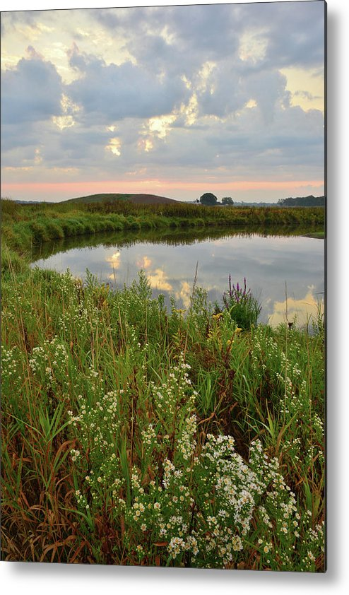 Glacial Park Metal Print featuring the photograph Sunrise On The Nippersink by Ray Mathis