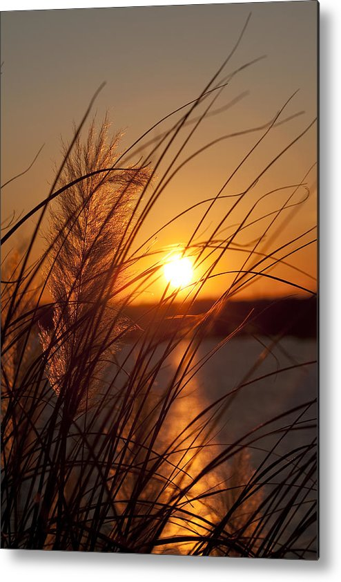 Sunset Metal Print featuring the photograph Sunset Over Lake Wylie Sc by Dustin K Ryan