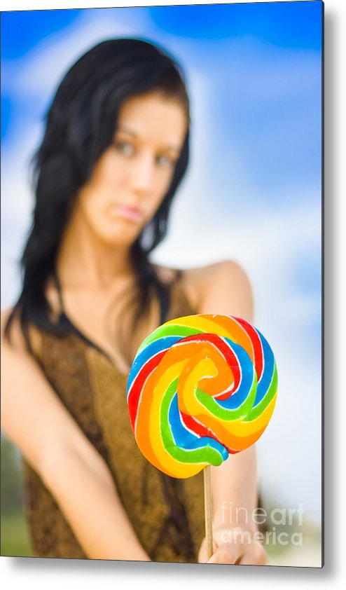 Attractive Metal Print featuring the photograph Sweet Thing by Jorgo Photography - Wall Art Gallery