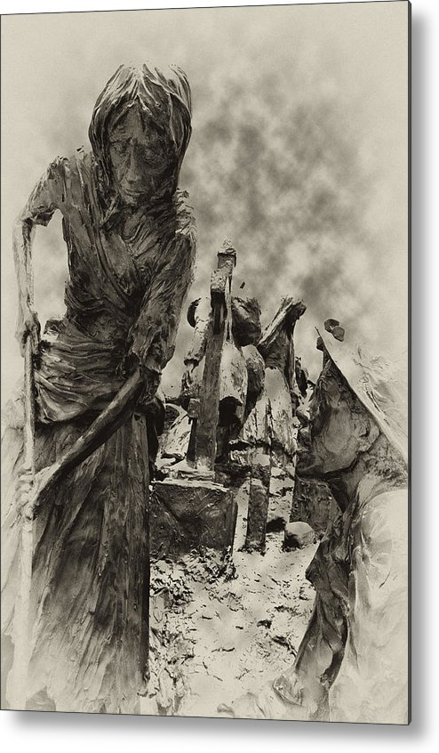 Philadelphia Metal Print featuring the photograph The Irish Famine by Bill Cannon