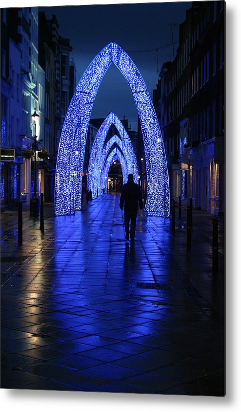 Jez C Self Metal Print featuring the photograph The Last Walk by Jez C Self