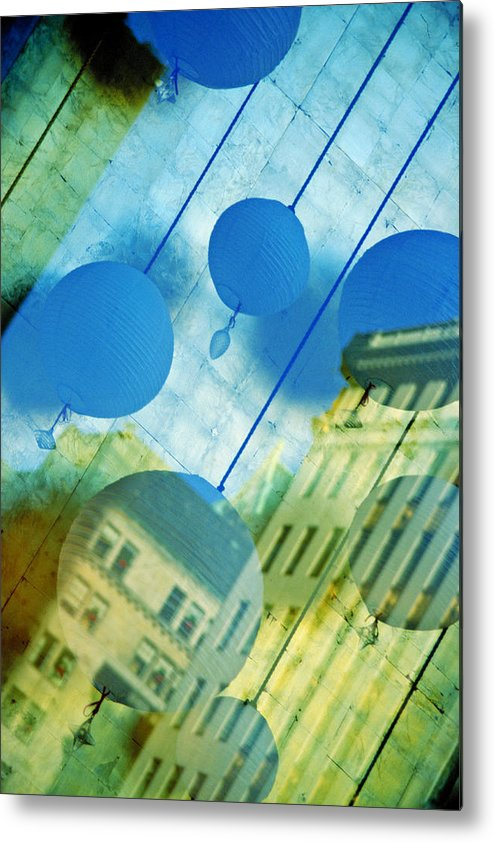 New York Metal Print featuring the photograph Tiffanys by Skip Hunt