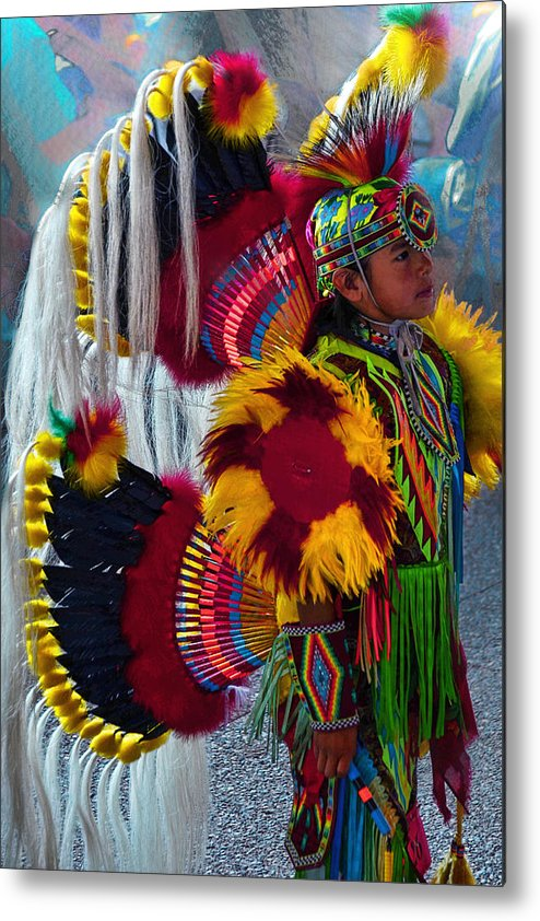 First Nations Metal Print featuring the photograph Tiny Dancer # 999 by Ed Hall