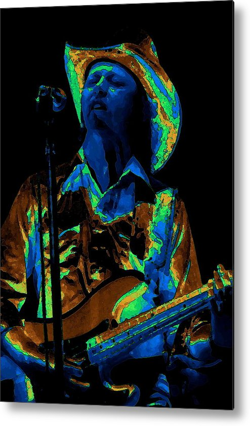 Marshall Tucker Band Metal Print featuring the photograph Tommy Caldwell Art 1 by Ben Upham