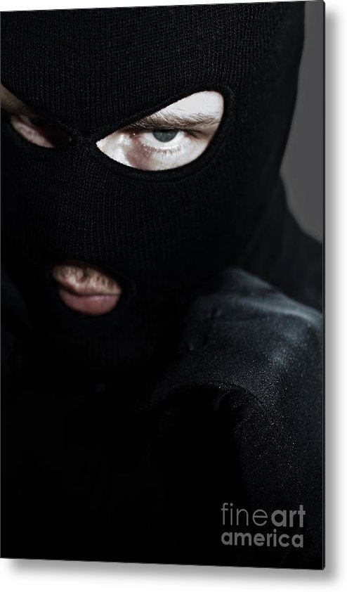 Adult Metal Print featuring the photograph Twilight Robbery by Jorgo Photography - Wall Art Gallery
