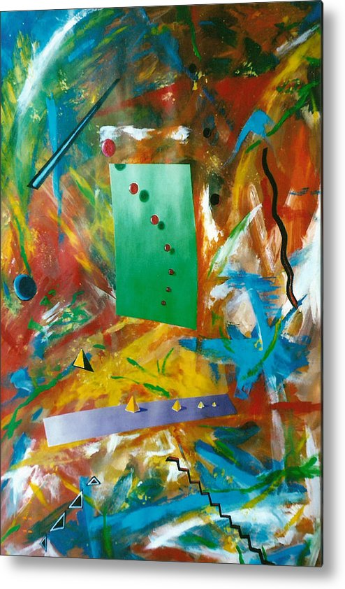 Math Metal Print featuring the painting Unified Theory by Arnold Isbister
