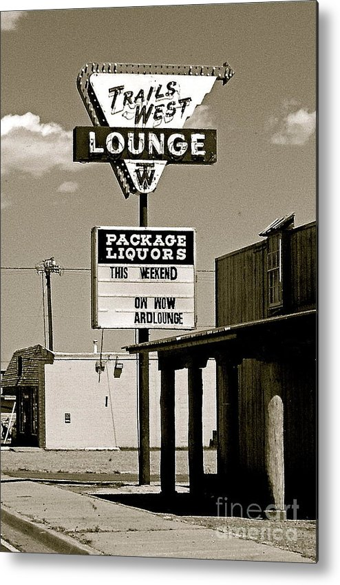 Route 66 Metal Print featuring the photograph Used To Be... by Amy Strong