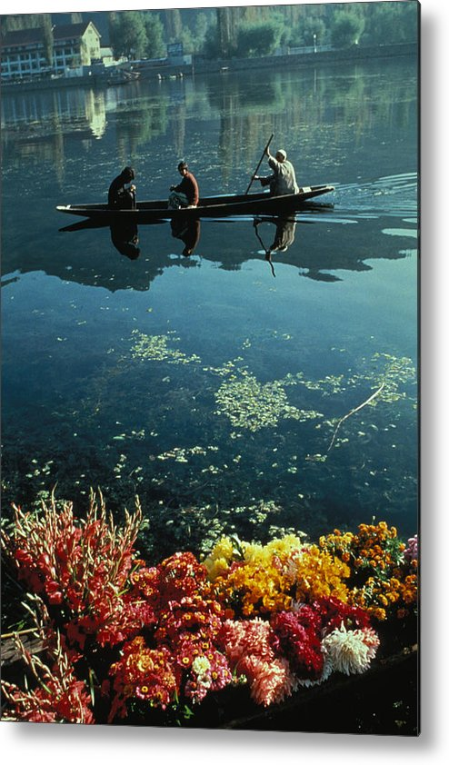 Boats Metal Print featuring the photograph Vale Of Kashmir by Carl Purcell