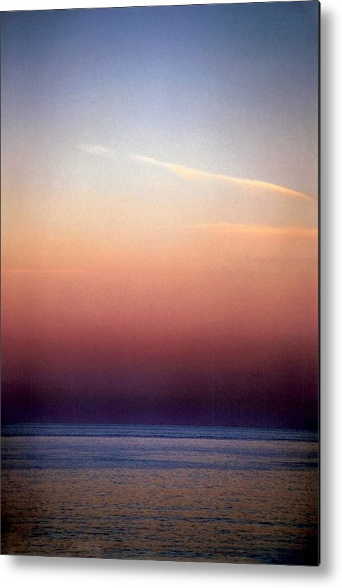 Landscape Metal Print featuring the photograph Vertical Number 1 by Sandra Gottlieb