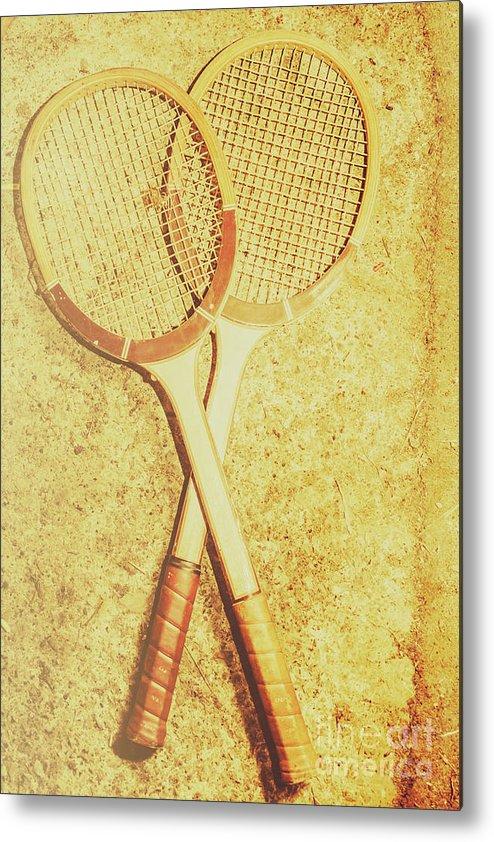 Tennis Strings Metal Prints and Tennis Strings Metal Art | Fine Art ...